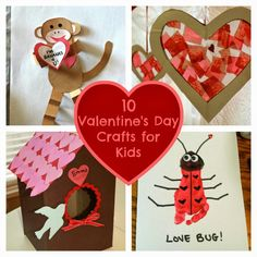Are your kids getting excited about Valentine's Day yet? My daughter, Sophie LOVES everything about Valentine's Day and every year, we try to do a special craft. Last year, we made this…
