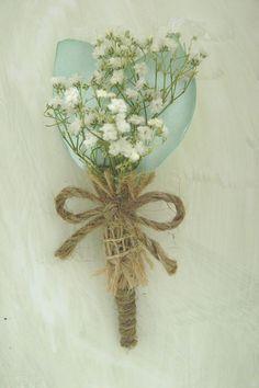 Boutonniere, Dried Wild Flower, Rustic Boutonniere, Weddings, Burlap Boutonniere
