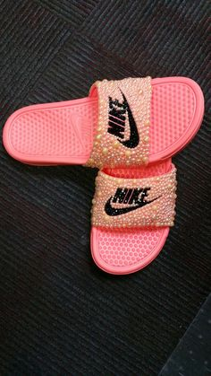 Cutomized nike slides
