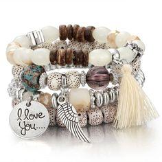 "Sterling Silver Flex Bangle Cuff Bracelet vis fin pour European Charm Bead 7/"""