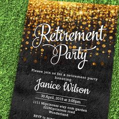 Hey, I found this really awesome Etsy listing at https://www.etsy.com/listing/235331673/retirement-invitations-retirement-party