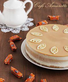 Sernik na zimno czekoladowo-kajmakowy @cafeamaretto