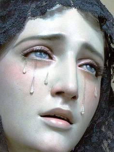 Weeping Mary.  three prints of this one.  As big as you can make them, so each about 3' wide)