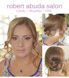 #salondebelleza #Merida #peinado #updo #hair #salon #boda #novia www.robertabudasalon.com 470C Paseo Montejo y Calle 39, 999 926 3015