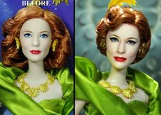 Artist Transforms Celebrity Dolls into True Likenesses - Neatorama
