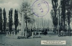 Songyori Monument, Pyongyang, 1920s  일제강점시기 사진엽서 – 평양 선교리기념비(船橋里紀念碑)