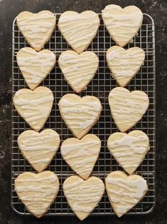 Get Shortbread Hearts Recipe from Food Network