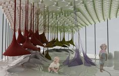 Infant Sensory Playgrounds - The MAXI-ooh! is an Innovative Learning Area for Babies (GALLERY)
