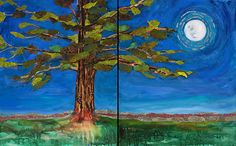 Event - Bella Luna - A Solo Art Show- Celebrating the Full Moon with Mixed-Media Artist Constance Vlahoulis