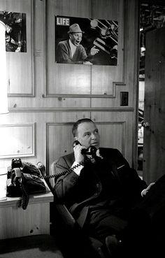 Hello? Frank Sinatra. Chairman of the Board...
