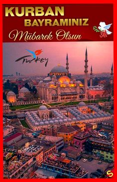 KURBAN BAYRAMINIZ MUBAREK OLSUN... 👋❤❤❤👋 Eid Images, Eid Mubarak, Taj Mahal, Decoupage, Turkey, Building, Travel, Art, Art Background