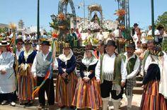 traje regional de Canarias