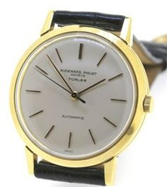 Audemars Piguet 18ct 0.750 gents automatic retailed by Turler. Audemars  Piguet f1435c77b72