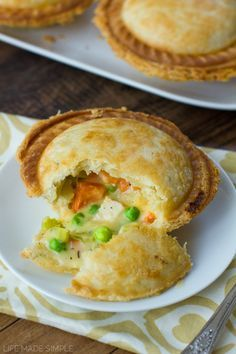 Loaded Mini Chicken Pot Pies | Made with Breville Pie Maker