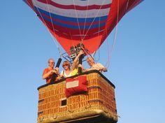 Ballonvaart bij www.deschansehoeve.nl. Lid van www.Maasmeanders.nl