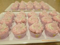 1st Communion Cupcakes