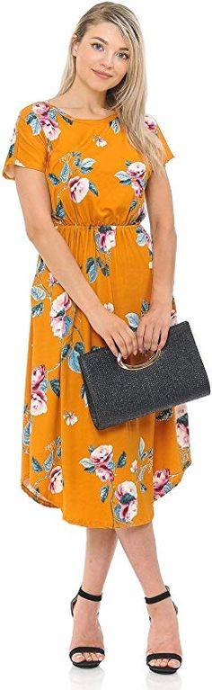Womens Ladies Skylar Floral Pom Pom Frill Blue Hem Dress Size 8 10 12 14 UK Made