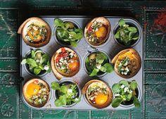 Muffin Tin Huevos Rancheros | 17 Easy Breakfasts You Can Make In A Muffin Tin