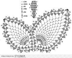 SZYDEŁKOWE MOTYLE - wzory - ROBÓTKI NA SZYDEŁKU - gocha…