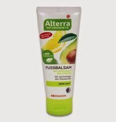 NEW Alterra Foot balm lemon + Avocado