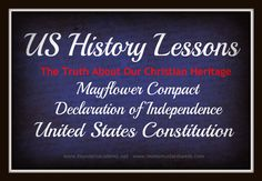 Free History Lessons - 13 weeks of FREE Video lessons for the Mayflower Compact, Declaration of Independence and the US Constitution.