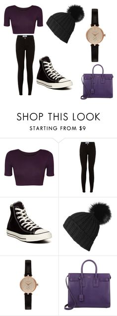 """""""Danny"""" by hopecobb ❤ liked on Polyvore featuring WearAll, Converse, Barbour and Yves Saint Laurent"""