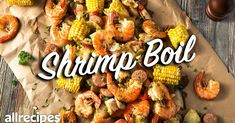 Lobster Recipes, Shrimp Recipes, Cajun Recipes, Shrimp Boil Foil, Crab Boil, Seafood Boil, Sweet Restaurant, Boiled Dinner, Cooking Recipes