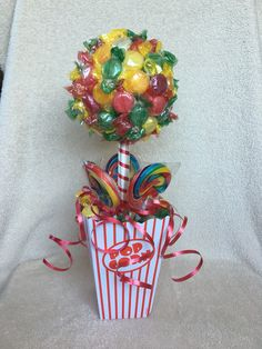 Funky carnival theme sweet tree