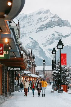 There's a reason everybody's heard of Banff. The mountain town's got a lot to love: historic charm, super beautiful natural surroundings, and all the amenities you could ask for. Hit the shops and restaurants on Banff Avenue and try Winter Photography, Travel Photography, Banff Photography, Banff National Park, National Parks, Ottawa, Banff Canada, Canada Snow, Skiing In Canada