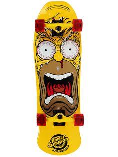 #Santa #Cruz #Simpsons #Homer Face Kruzer #Complete #Skateboard 9.5 x 31 $129.99