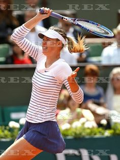 French Open Tennis - Roland Garros 2015 Day Four Roland Garros, Paris, France - 27 May 2015  Maria Sharapova of Switzerland blows a kiss at Roland Garros, Paris, 2015  27 May 2015
