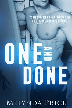 One and Done, Adult, Romance, Melynda Price