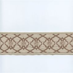 EA271/09 Brown/Khaki Tan Tape Trim - SW35737 - Fabric By The Yard At Discount Prices