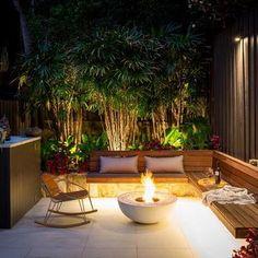 Back Garden Design, Small Backyard Design, Terrace Design, Backyard Patio Designs, Small Backyard Landscaping, Pergola Patio, Pergola Kits, Pergola Ideas, Landscaping Ideas