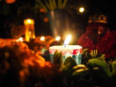 Candles, Day of the Dead 2015, Oaxaca