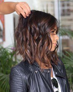 19 Trendsetting Short Brown Hair Colors for 2019 - Style My Hairs Light Brown Hair, Dark Hair, Medium Hair Styles, Short Hair Styles, Hair Medium, Brown Hair Balayage, Short Hairstyles For Women, Thin Hairstyles, Hairstyles Pictures