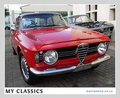 1966 ALFA ROMEO GIULIA SPRINT GT VELOCE  classic car