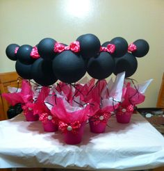 Minnie Mouse centerpiece by specialdecor on Etsy, $17.00