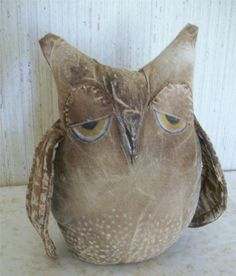 I have several prim Owl patterns (somewhere in my sewing room). Need to get some made!