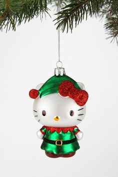 Hello Kitty Elf Ornament - Urban Outfitters