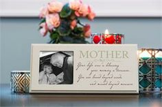 Memorial Frame for the Loss of a Mom $19.99 Free Shipping  #MothersDay #Mom