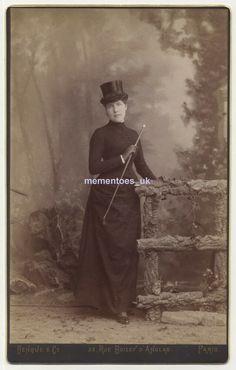Riding Habit, Vintage Photographs, France, Horses, Paris, Lady, Movie Posters, Image, Carte De Visite