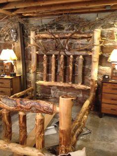 Rustic Wooden Bed Frames at Bedroom Design Catalog