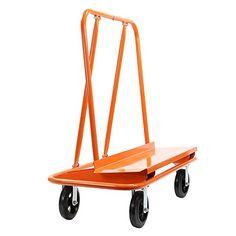 GypTool Heavy Duty Drywall Sheet Cart & Panel Dolly - Orange GypTool http://www.amazon.com/dp/B00JMP1KK8/ref=cm_sw_r_pi_dp_OwqSwb08JN63P