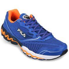 Zapatillas Fila Arterial - Azul+Naranja