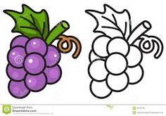 Image result for grape clip art black and white