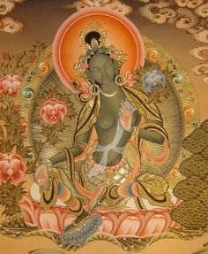The legend of Tara, female Buddha of Compassion
