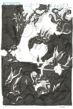 Mike Mignola - Hellboy 53 Hellboy in Hell 3p22 Comic Art