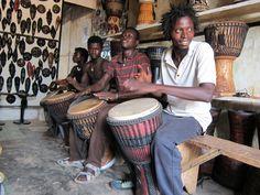African drumming, Accra, Ghana