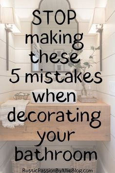 Are you remodeling your bathroom? And looking for the best organization hacks to keep a clean bathroom. These habit will help you stay organized and look like a professional decorator. Bathroom Shelf Decor, Bathtub Decor, Bathroom Styling, Bathroom Storage, Bathroom Interior, Bedroom Decor, Bathroom Cleaning, Budget Bathroom, Bathroom Decor Ideas On A Budget